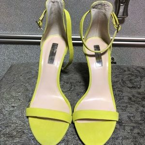Inc neon yellow shoes